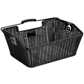 Unix Mateo Rear Wheel Basket finely woven black